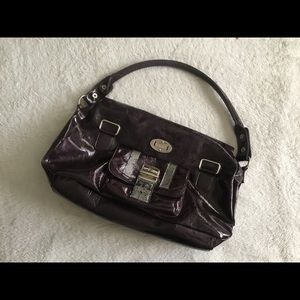 Beautiful plum Versace handbag